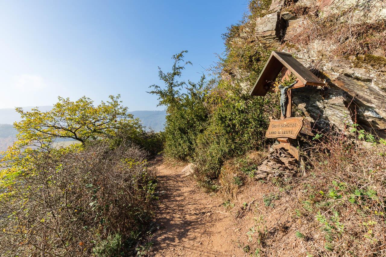 Klettersteig Calmont : Calmont klettersteig und höhenweg km auf augenhöhe